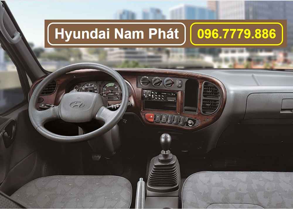 hyundai mighty 110s nội thất