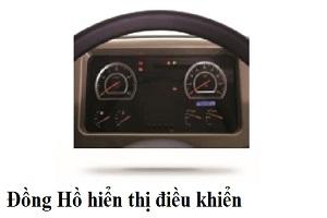 đồng hồ xe ben daewoo k4def, xe dau keo daewoo v3tef