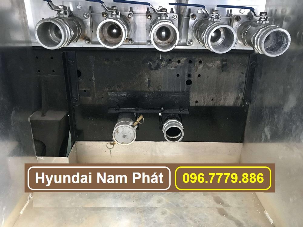 van xả bồn nhôm xe hyundai hd360